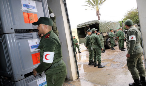 La médecine militaire prend part à la mission de lutte contre la pandémie du coronavirus (COVID-19) aux côtés de son homologue civile. © DR