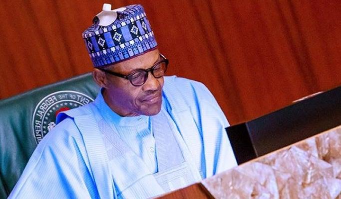 Le président nigérian Muhammadu Buhari. © DR