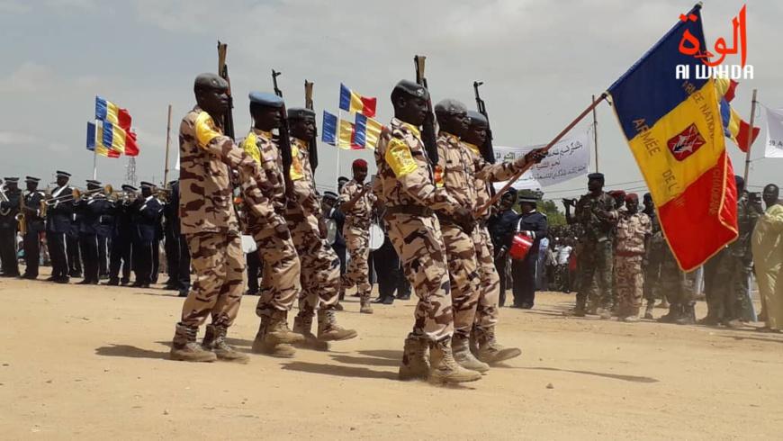 Un défilé militaire au Tchad. © Alwihda Info