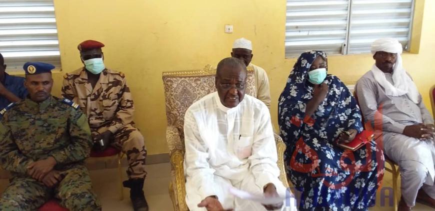 Le gouverneur de la province du Batha, Benaindo Tatola. © Hassan Djidda/Alwihda Info