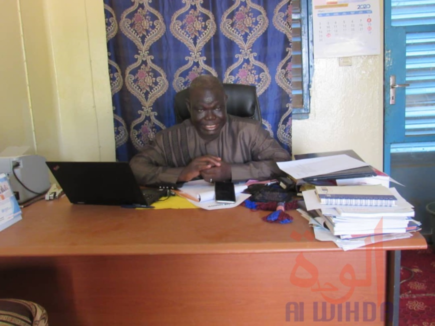 Le délégué sanitaire provincial du Sila, Dr. Abinon Djelamdé. ©Mahamat Issa Gadaya/Alwihda Info