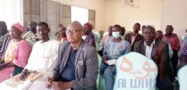 """Tchad - Covid-19 : à Laï, la population """"fait semblant"""" face aux mesures, déplore le maire. © Éric Guedi/Alwihda Info"""