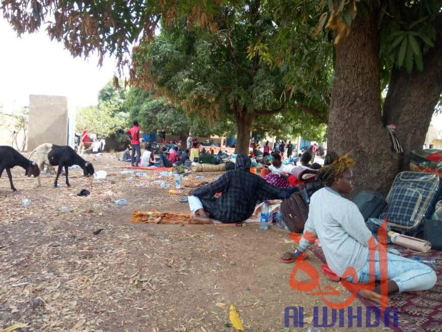 des conditions difficiles pour les étudiants confinés à Koutéré