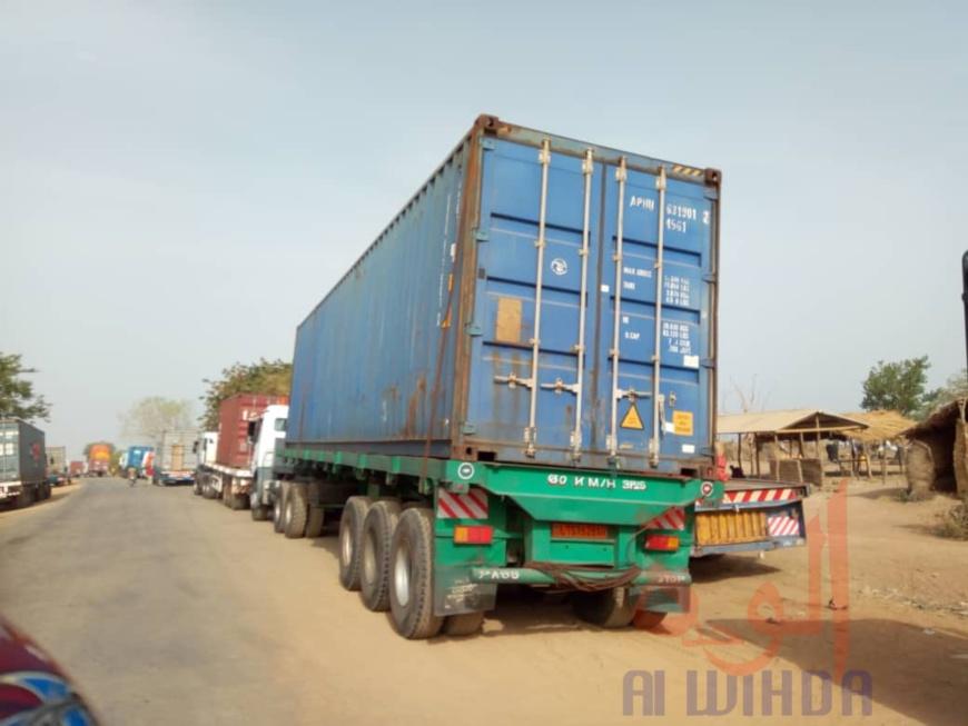 Un camion de marchandises en provenance du Cameroun, à Koutéré, au Tchad. Illustration. © Golmen Ali/Alwihda Info