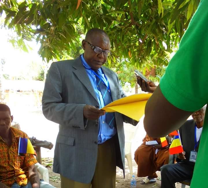 Le président du Réseau des associations pour la paix et la cohabitation pacifique du Logone Occidental (RAPCLO), Moussa Alkhali Moussa. ©DR