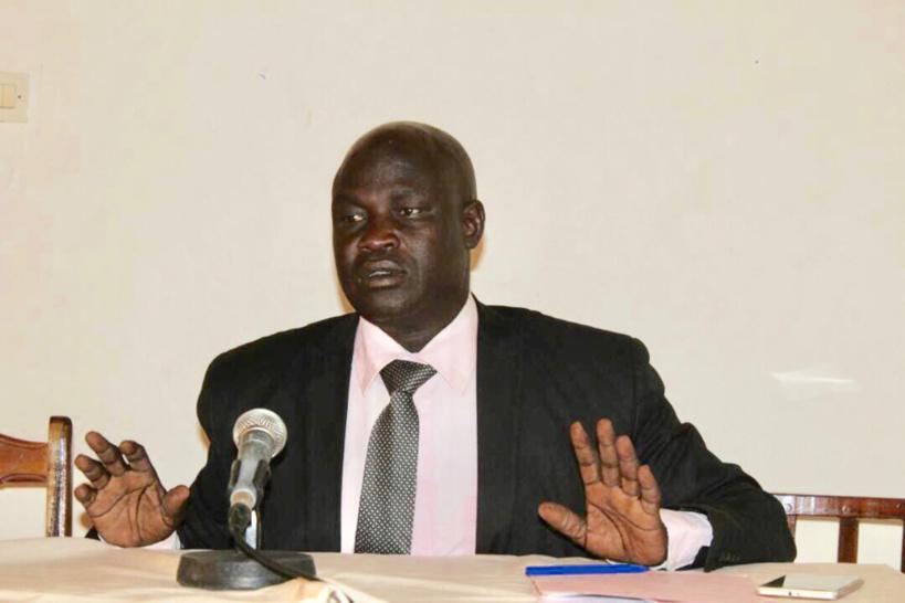 Le secrétaire général de l'association des défenseurs des droits humains et de l'environnement au Tchad (ADHET), Abba Daoud Nandjede. © Alwihda Info