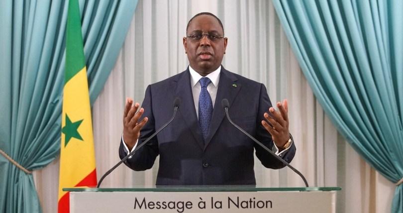 Le président sénégalais Macky Sall. © DR