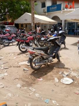 Tchad : les banques face aux mesures de prévention contre le Covid-19. © Kelvin Mendig-lembaye Djetoyo/Alwihda Info