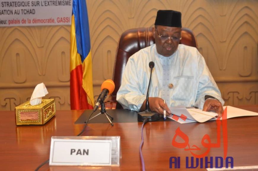 Le président de l'Assemblée nationale, Dr. Haroun Kabadi. © Alwihda Info
