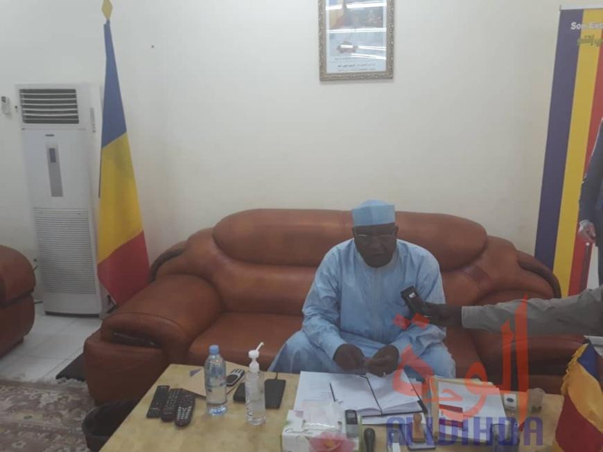 Tchad : au Ouaddaï, les autorités font le point sur la lutte contre le Covid-19. © Abba Issa/Alwihda Info