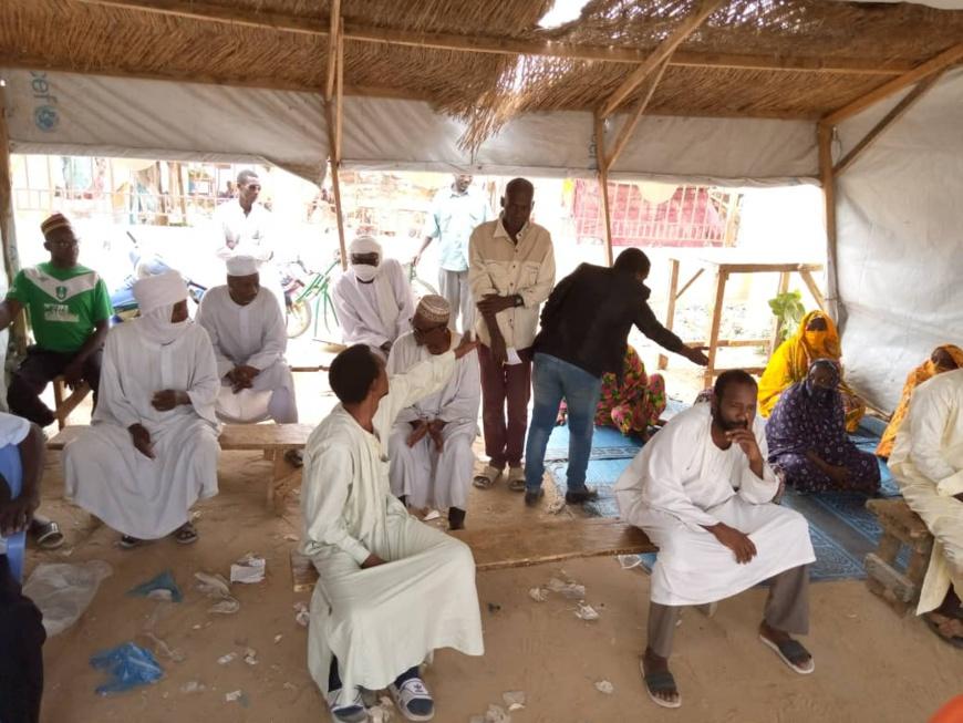 Tchad - Covid-19 : les réfugiés du site de Gaoui ne sont pas oubliés. ©Kelvin Mendig-lembaye Djetoyo/Alwihda Info