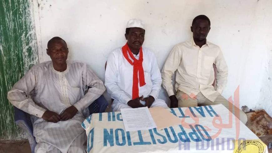 """Tchad : à Ati, le FAR/PF appelle à se mobiliser """"au-delà des intérêts mesquins"""". ©Hassan Djidda Hassan/Alwihda Info"""