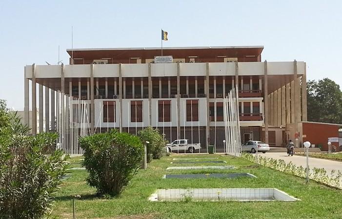 Le siège du ministère des Affaires étrangères à N'Djamena. © DR