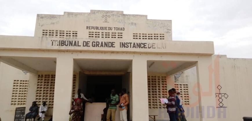 Le Tribunal de grande instance de Laï. © Eric Guedi/Alwihda Info