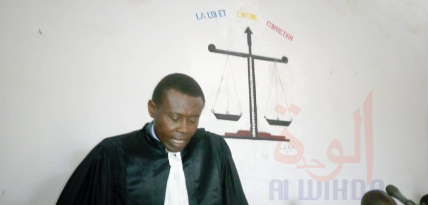 Tchad : à Laï, quatre magistrats installés dans leurs nouvelles fonctions. © Eric Guedi/Alwihda Info
