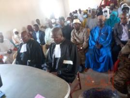 Tchad : à Bitkine, un nouveau tribunal et deux nouveaux magistrats installés. © Béchir Badjoury/Alwihda Info