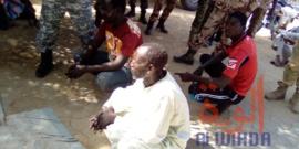 Tchad : 17 individus arrêtés par la gendarmerie et la commission mixte de sécurité. © Mahamat Abdramane Ali Kitire/Alwihda Info