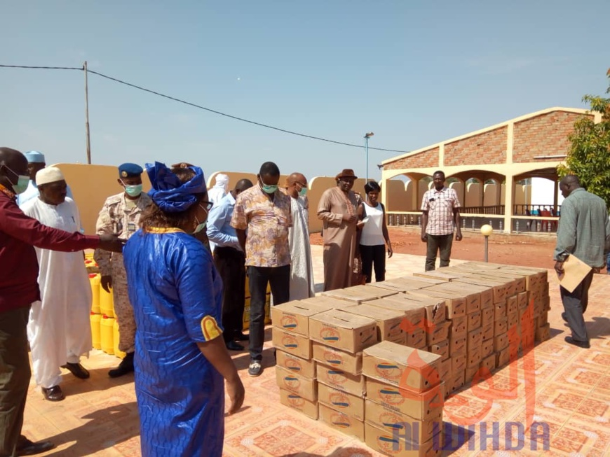 Tchad - Covid-19 : la province du Mandoul reçoit un appui de taille. ©Golmen Ali/Alwihda Info