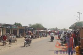 La circulation en plein jour à N'Djamena. 21 avril 2020 © Djibrine Haïdar/Alwihda Info