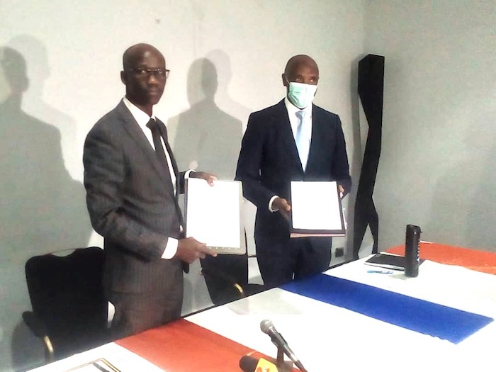 Tchad - Covid-19 : un accord de financement de 16,95 millions $ signé. © Abakar Chérif/Alwihda Info