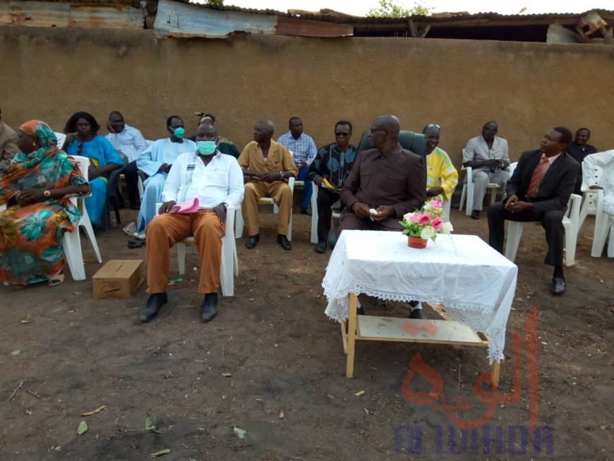 Covid-19 : La Coton Tchad remet un important don à la province de la Tandjilé. ©Golmen Ali/Alwihda Info