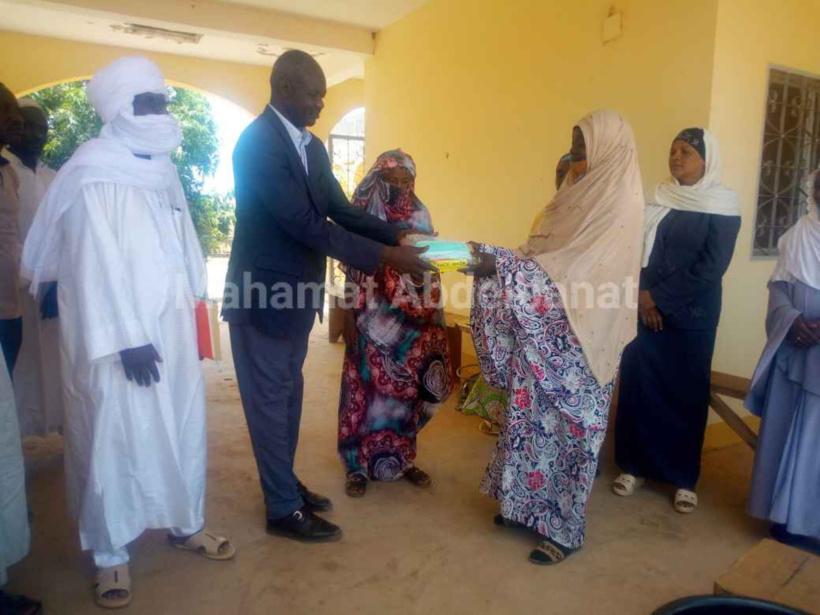 Tchad - Covid-19 : une organisation féminine de la société civile en faveur de la lutte à Am-Timan. ©Mahamat Abdelbanat Kourma/Alwihda Info