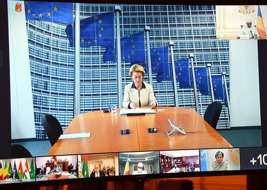 G5 Sahel : l'Union européenne annonce une aide supplémentaire. © PR/Td