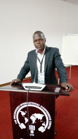 Mahamat Ramadane, l'un des rares jeunes JRI qui fait la fierté du journalisme en Afrique. © DR
