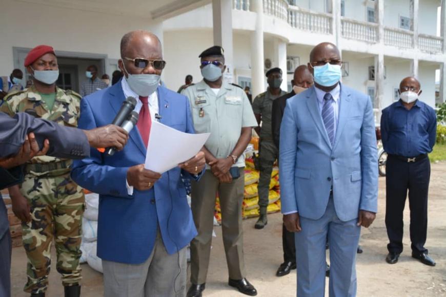 CONGO-COVID 19 : les populations remercient la Fondation Ghislain Arsitide Okemba Dzonga pour son soutien.