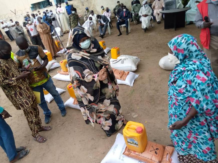 Tchad : à N'Djamena, près de 100.000 ménages vont bénéficier d'un kit alimentaire. © Kelvin Mendig-lembaye Djetoyo/Alwihda Info