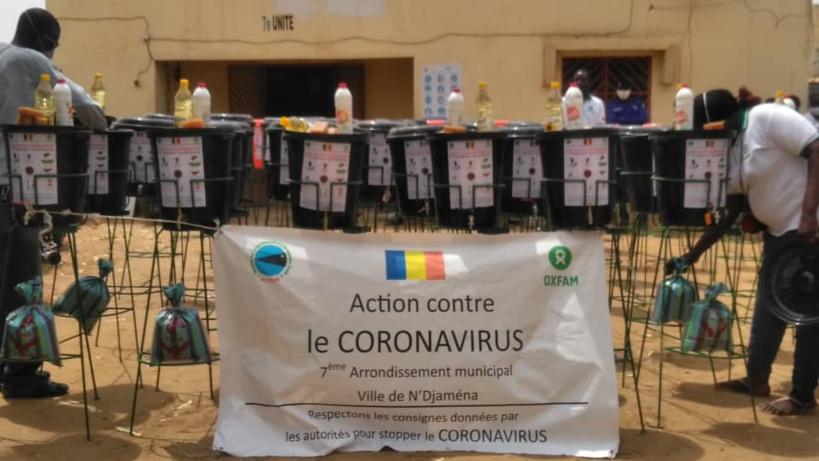 Tchad : à N'Djamena, des kits d'hygiène remis à deux arrondissements