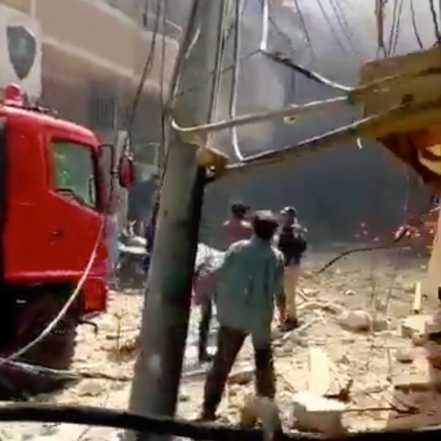 Pakistan : un avion avec une centaine de passagers s'écrase sur des maisons. © Capture d'écran/DR