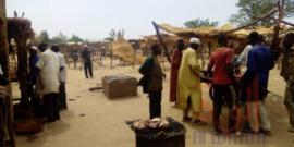 Tchad : à Pala, les bouchers sommés de porter les masques et d'être propres. © Foka Mapagne/Alwihda Info