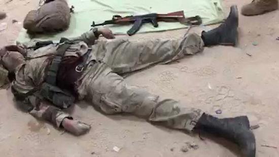 Libye : le corps d'un paramilitaire russe retrouvé par des forces spéciales. ©DR/Capture d'écran