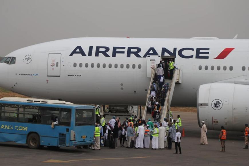 Tchad : rapatriement de 150 ressortissants de France. © DR/Tchad Diplomatie