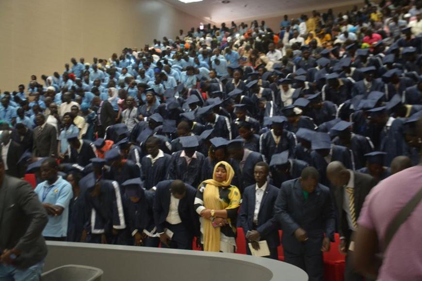 Des lauréats de l'INJS lors d'une cérémonie de remise de diplôme le 25 octobre 2019. Illustration. © DR/INJS