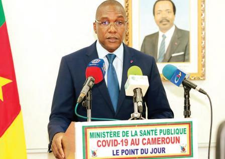 Le ministre de la Santé publique, le Dr Manaouda Malachie.