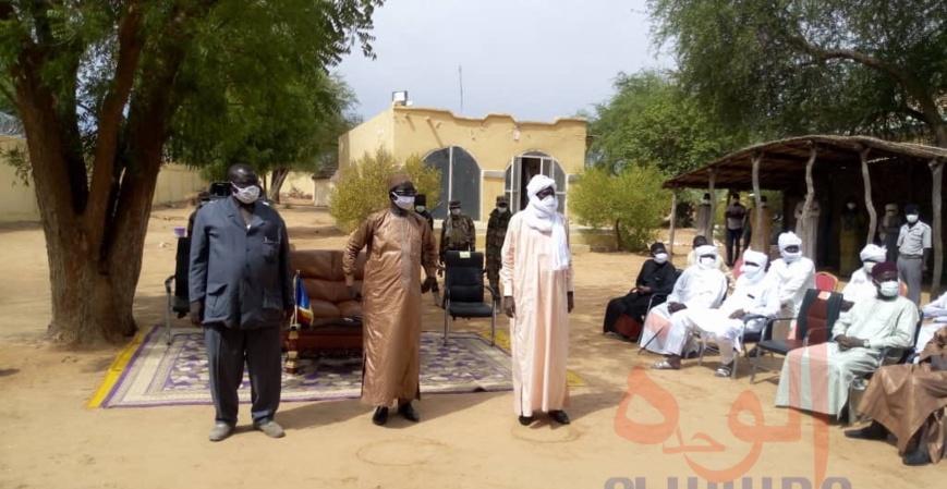 Tchad : le nouveau gouverneur de Sila installé. © Mahamat Issa Gadaya/Alwihda Info