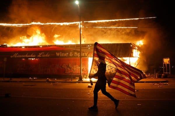 USA : manifestations à l'échelle nationale après la mort de George Floyd. ©DR
