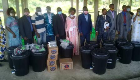 Cameroun/Covid-19 : Mme Salomé Ngaba au  secours des élèves d'Ebebda