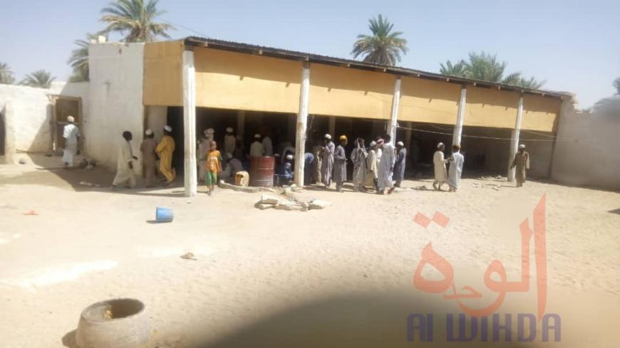 Tchad : un incendie ravage une école coranique à Faya. © Adoum Akim/Alwihda Info