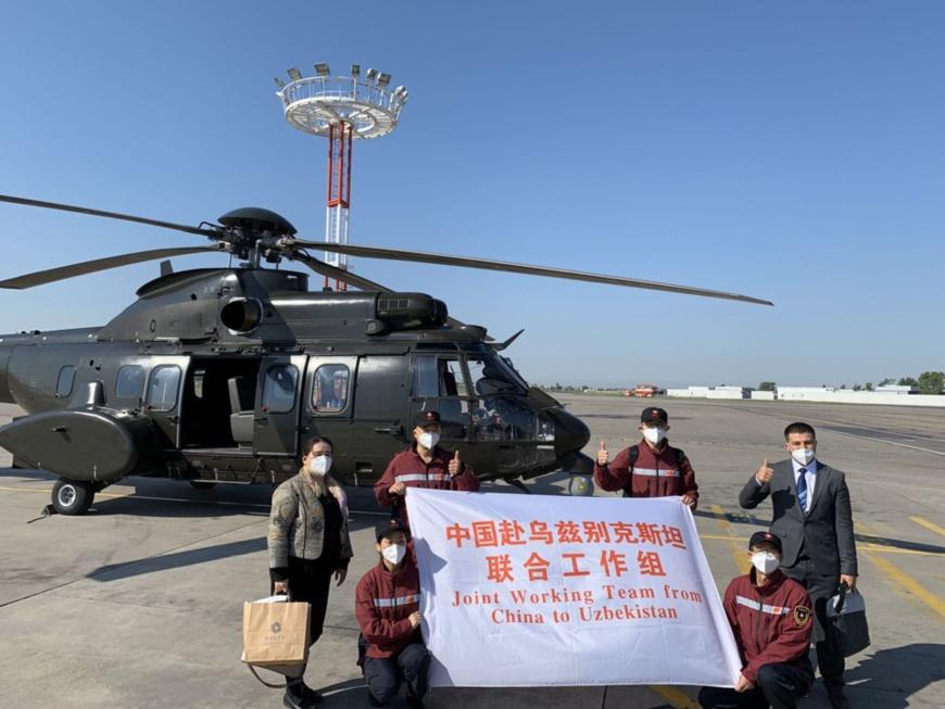 Uzbek student supports Chinese medical team in Uzbekistan as interpreter