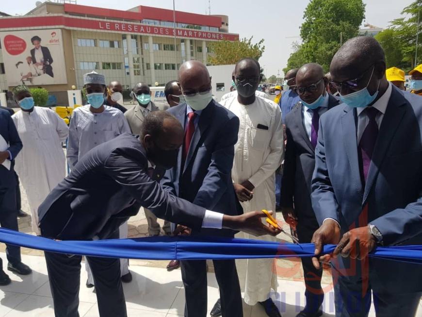 Tchad : des projets structurants pour la dynamisation de la STPE. ©Djimet Wiche/Alwihda Info