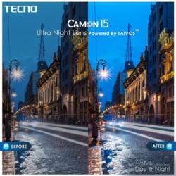 Le Camon 15 offre le meilleur téléphone avec appareil photo haute gamme