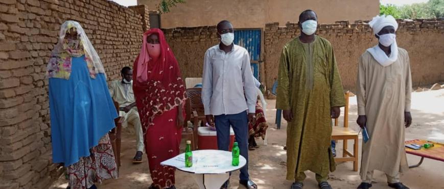 Tchad-politique : Un parti politique installe un nouveau bureau au Sila ©️ Mahamat Issa Gadaya/Alwihda Info