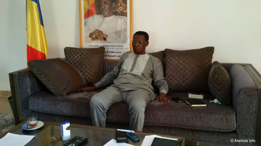 Le gouverneur de la province du Guéra, Paul Mbainodoum Ngartelbaye. © Béchir Badjoury/Alwihda Info