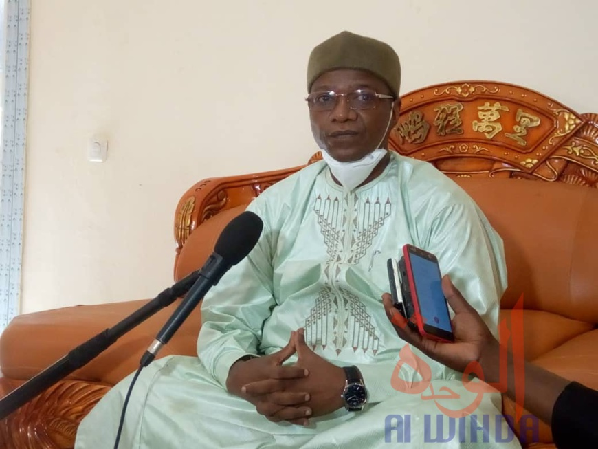 Le ministre de la Communication, porte-parole du Gouvernement, Oumar Yaya Hissein. © Golmem Ali/Alwihda Info