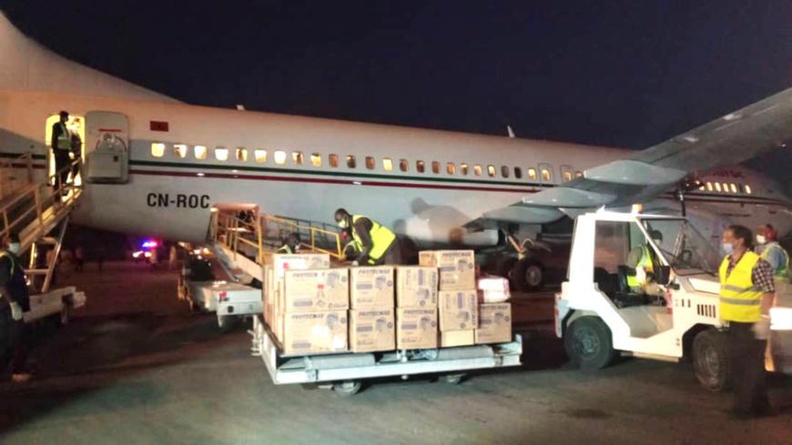 Covid-19 : Le Tchad réceptionne un don de matériel médical du Maroc. ©Dr/Min. AE