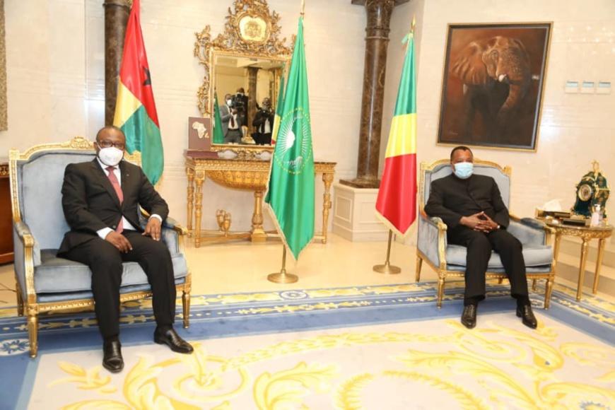 Tête-à-tête Umaro Sissoco Embaló - Denis Sassou N'Guesso