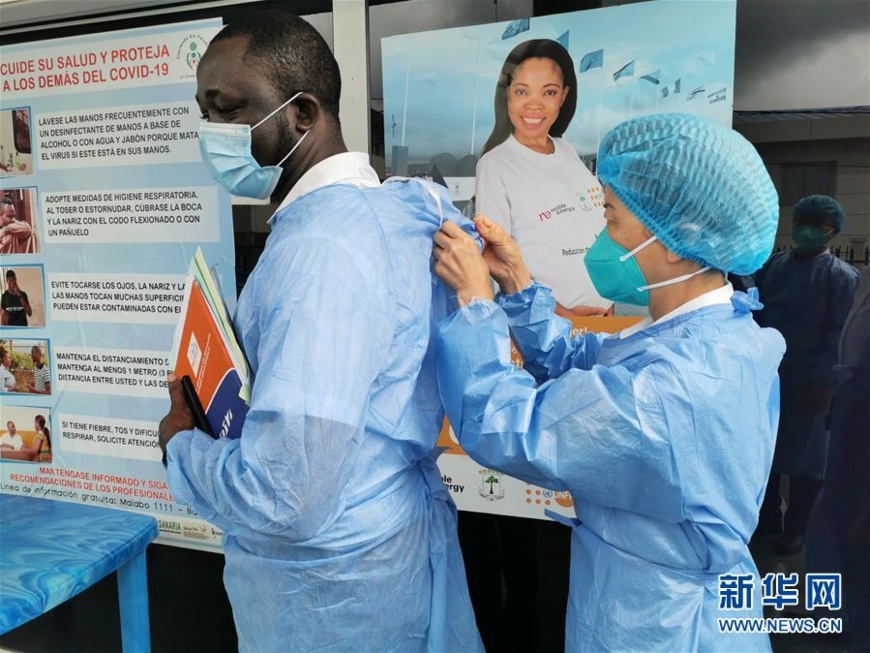 Chinese, African people stick together in collaboration amid epidemic